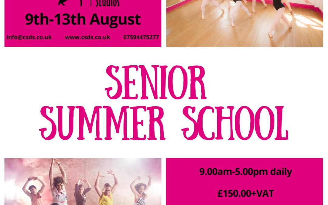Senior Summer School 2021